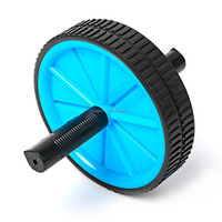 Dual Ab Wheel - Fitness Roller Abdominal Exercise Equipment