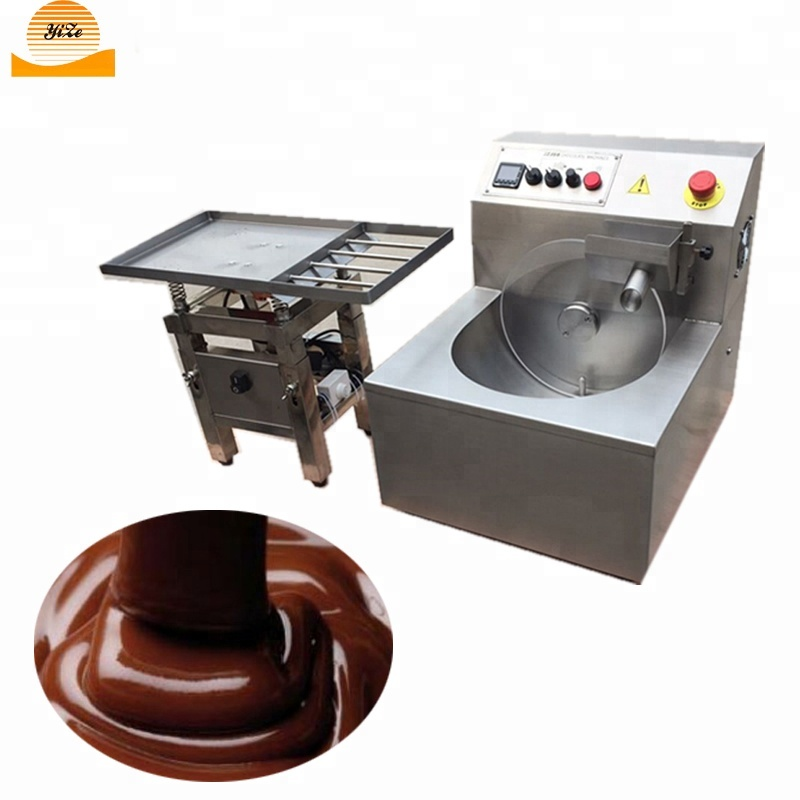 Cheap Small Automatic Chocolate Tempering Machine with Vibrating Vibration Table Chocolate Melting Processing Machine Price