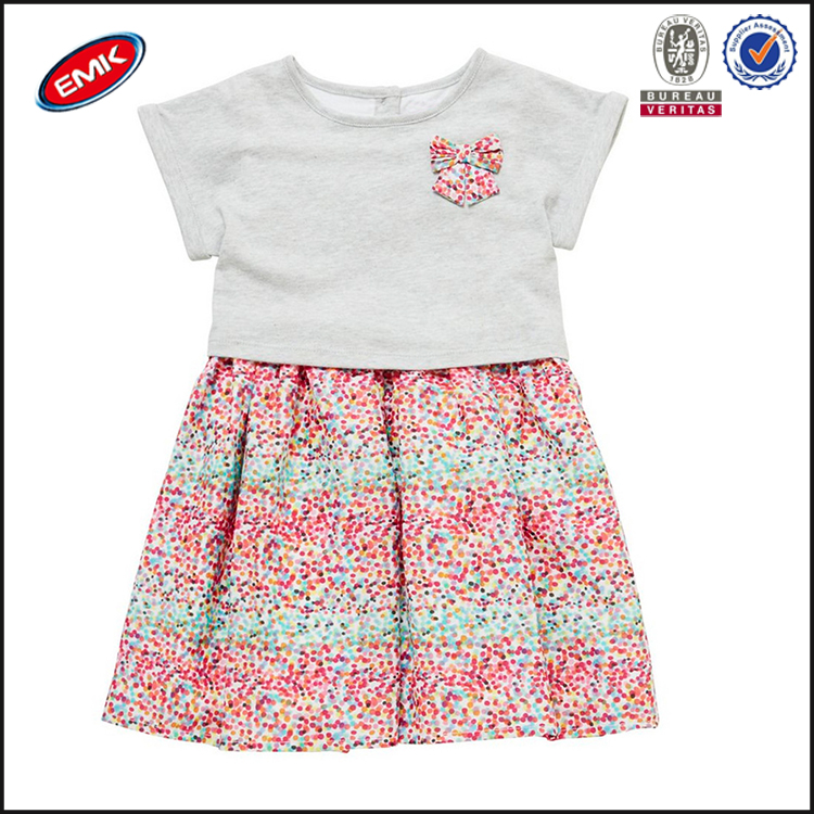 2016 Beautiful Baby Clothes Dress With Bowknot Buy Baby