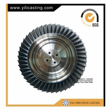 investment casting turbine disc for ultralight engines