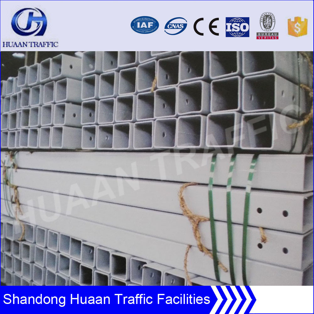 galvanized steel square pipe for construction of bridge