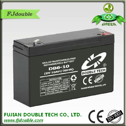 rechargeable 6v 4.5ah 20hr ups small battery for led light