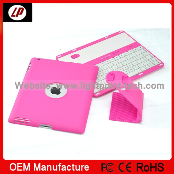 china new products 2014 ! wireless micro mini keyboard bluetooth for ipad 2/3/4 with 360 degree rotation