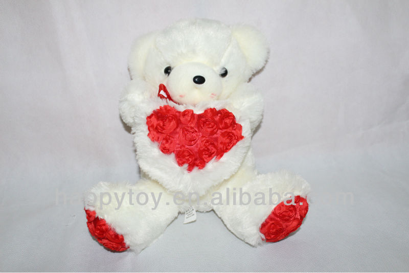 HI CE Cute bear with heart eddy toys animal toy