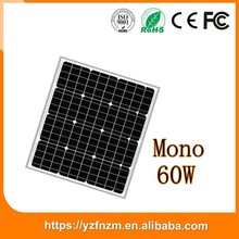 25 Years Output Power Guarantee 60w solar panel made in China
