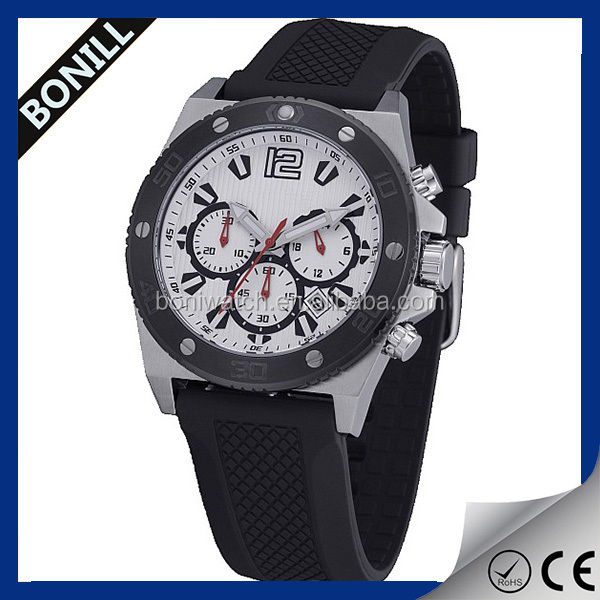 Custom logo brand watches, promotional wholesale watches, silicone mens wrist watches