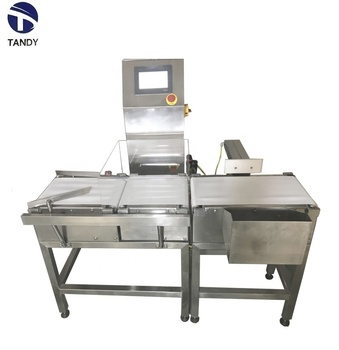 Conveyor weight detecting scales belt check weigher for food or grains