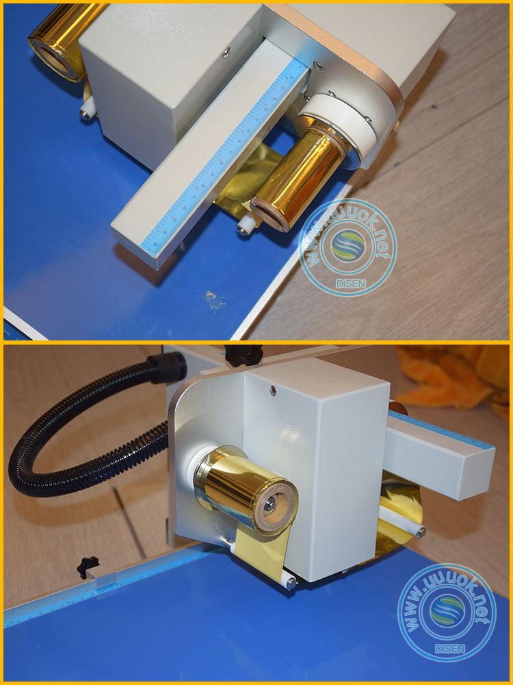 Digital hot stamping printer trading card ribbon aluminum foil digital hot stamping gold foil printing machine
