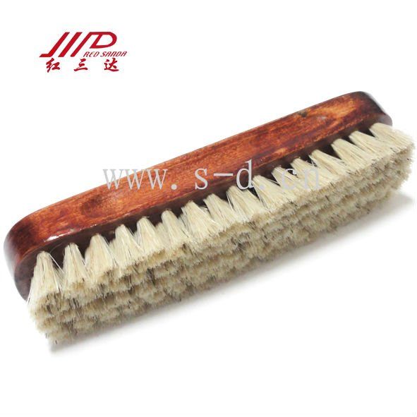 wooden animal shoe brush