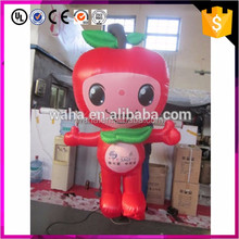 China Cheap Price Pvc Inflatables Apple Model Promotion Replica