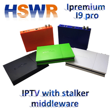 New arrival IPTV BOX Ipremium I9 pro Android 6.0 OS Quad core DVB-S2/C Tuner Mickyhop