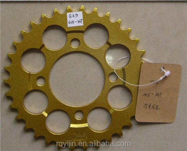 China wholesale motorcycle chain sprocket for EX5