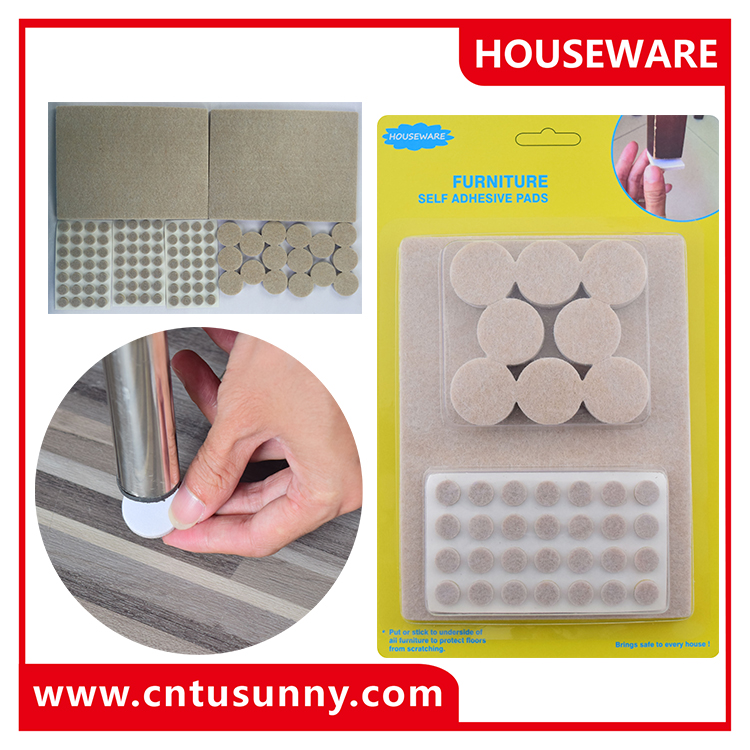furniture protection pad/Self adhesive felt pad/chair leg floor protection