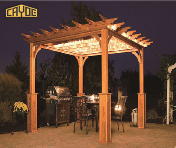 Popular type luxury outdoor garden pergola / balcony