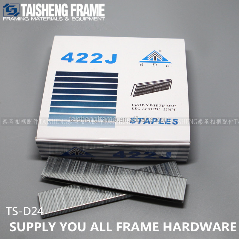 TSD24 Pneumatic Staples 22mm High quality 422J staples