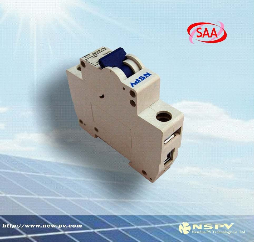 The hot sales new products solar air circuit breaker/24V power circuit breake