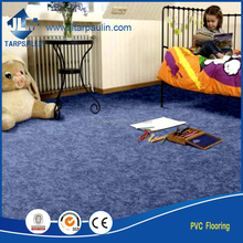 Hot selling water proof luxury plastic pvc flooring/vinyl floor planks with fiberglass floor used indoor