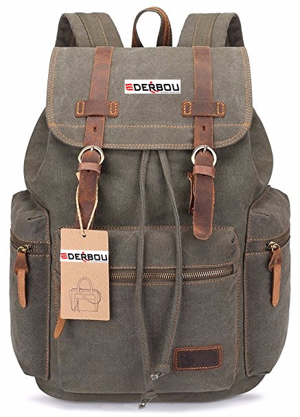 Laptop Outdoor Backpack, Travel Hiking& Camping Rucksack Pack, Casual Large College School Daypack, Shoulder Book Bags