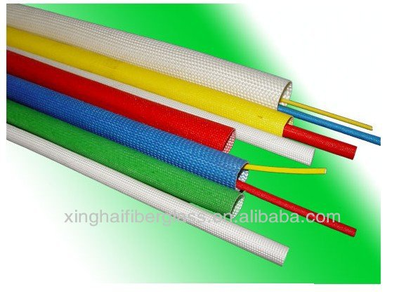 silicone resin Braided Sleeving