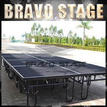 Construction swing stage equipment event stages for sale