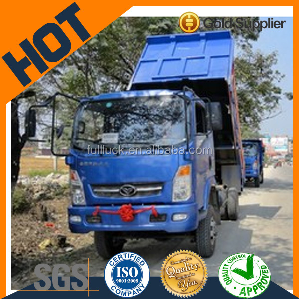 Sinotruk 140HP EURO 4 4x4 mini dump truck for sale