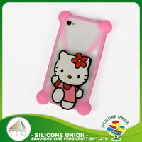 Wholesale mini cartoon silicone mobile phone case