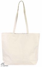 Cotton Canvas Natural Tote Bag plain cotton tote bag