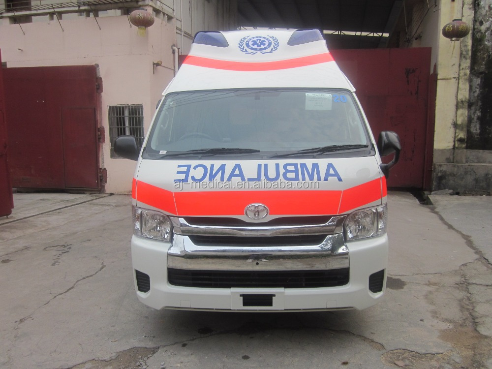 Toyota Hiace Super High Roof 2.7L Gasoline Luxury Ambulance