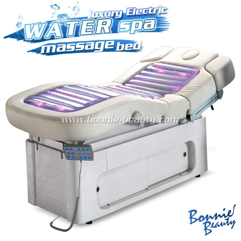 Wood base Electric Massage Beauty Bed sex massage table
