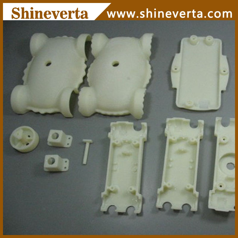 CNC light reflecting spare part plastic rapid prototype