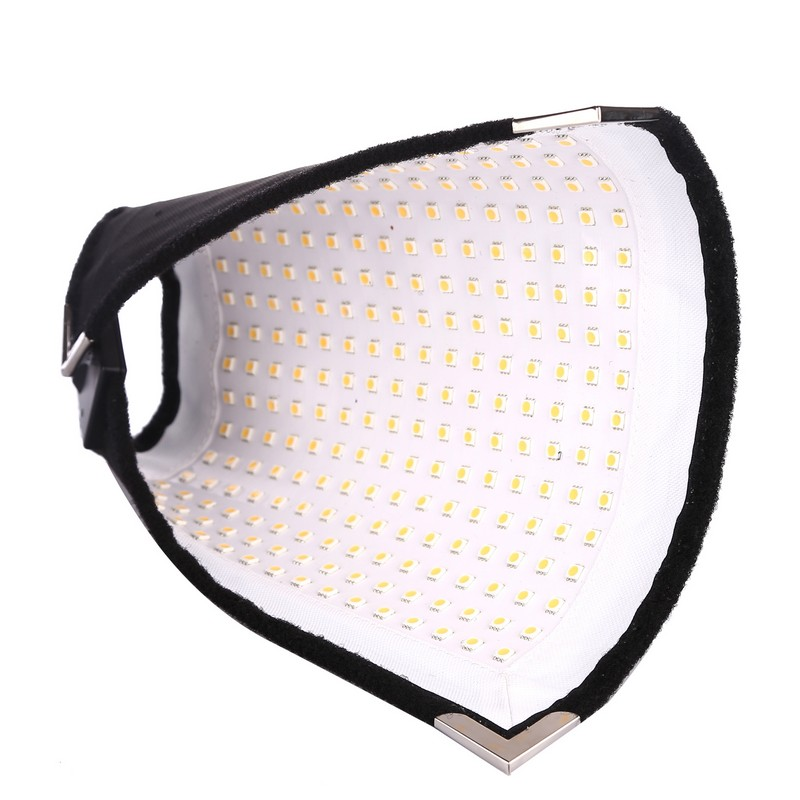 Flex mat daylight LED lumens flexible moldable LED video fabric light slim ultralihgt panel light