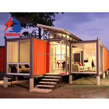Movable 20ft Luxury Shipping Container House For Living