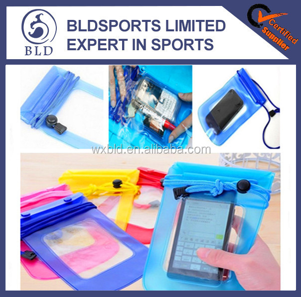 2016 Most Welcomed Promotional PVC waterproof cell phone bag