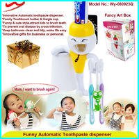 Funny Automatic Toothpaste dispenser trading business ideas