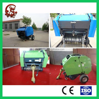 Hay/straw/wheat stalk Agro waste Baling machine
