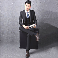 2017 brand wholesale latest design coat pant men suit oem Hand Made men suit