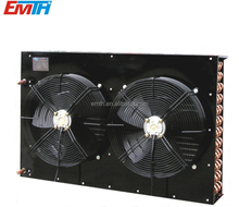 Fin type copper tube air cooled condenser