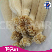 Alibaba 100 cheap remy u tip hair extension wholesale