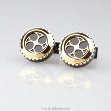 High Quality Swank Cufflinks Value Gear Cufflinks Made In China