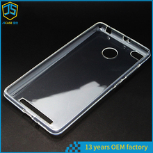 1.00MM Silicone Mobilephone Back Case Cover Replacement for Xiaomi Redmi 3s Prime