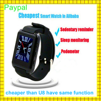 Cheapest paypal accept custom logo android hand watch mobile phone