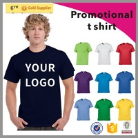 2017 Hot custom cheap cotton&polyester promotional t shirt