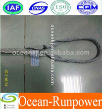 Preformed Guy grip for earth wire power fitting