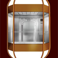 China Manufacturer Commercial Passenger Glass Round