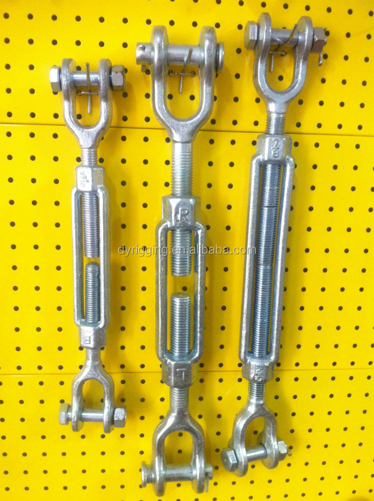 Forged U.S Type Turnbuckles With Jaw And Jaw
