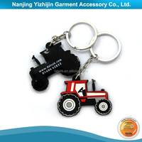 High Quality Customized Rubber Key Chain Motorcycle