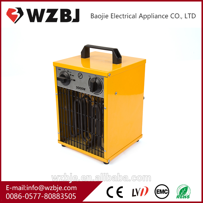 High frequency 220 volts 3kw mini electric heaters fan heater wholesale