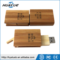 Custom usb drives Book shape usb flash drive holy bible usb stick wooden pen drive 4gb 8gb u disk