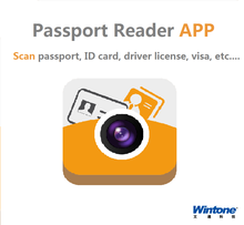 Wintone passport scanner for hotel management application