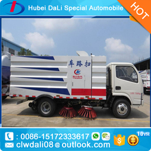 Vacuum Road Sweeper truck with stainless steel garbage tank